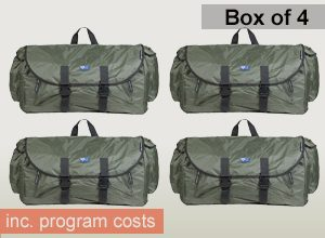 Box of 4 Backpack Beds